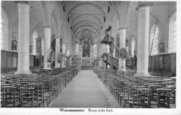 WAESMUNSTER - BINNE ZICHT KERK - Belgique