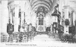 WAASMUNSTER - BINNENZICHT DER KERK - Belgique
