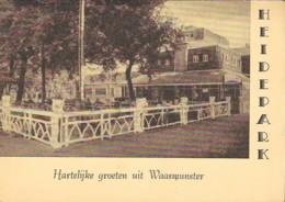 WAASMUNSTER - HARTELIJKE GROETEN UIT  'HEIDEPARK' - Belgique
