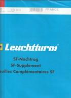 France Feuilles Leuchtturm Pré-imprimé Avec Pochettes Jeu France 2011 Ref 342600 - Albums & Reliures