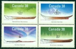 "-Canada-1989-""Native Boats"" MNH (**) - 1952-.... Reign Of Elizabeth II"