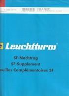 France Feuilles Leuchtturm Pré-imprimé Avec Pochettes Jeu France 2011 Bloc Souvenir Ref 342602 - Vordruckblätter