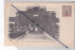 Viêt-Nam ; Hué - Entrée Principale Du Palais (jour De Fête)(carte Précurseur De 1904) - Vietnam