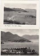 9636-LOTTICINO N°.6 CARTOLINE ISOLA BELLA-PESCATORI(VERBANO-CUSIO-OSSOLA)-FG - Verbania
