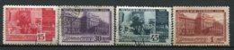 RUSSIE -  Yv N° 845 à 848   (o)   Musée  Lénine Cote  50  Euro  BE  2 Scans - 1923-1991 URSS
