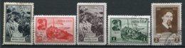 RUSSIE -  Yv N° 838 à 842 Complet  (o)  Peintre Sorikov   Cote  45  Euro  BE 2 Scans - 1923-1991 URSS