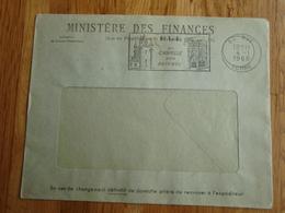 Enveloppe Ministère Des Finances 1968 RUE - 80 - - Autres