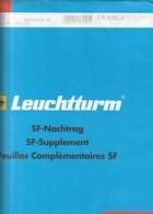 France Feuilles Leuchtturm Pré-imprimé Avec Pochettes Jeu France 2010 Timbres Et Carnet  340 747 - Albums & Reliures