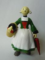 FIGURINE PLASTOY 1995 BECASSINE Avec Son Parapluie Et Son Panier (2) - Figurines