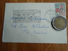 Petite Enveloppe Timbrée De BAYEUX  + Flamme 1968 - Autres