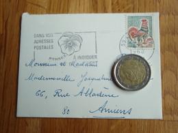 Petite Enveloppe Timbrée De LILLE-GARE  + Flamme 1968 - Autres