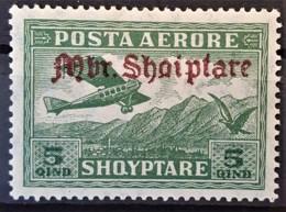 ALBANIA 1929 - MLH - Sc# C22 - Mi 210 - AirMail 5q - Albanie