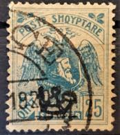 ALBANIA 1920 - Canceled - Sc# 132 - Mi 79 - 25q - Albanie