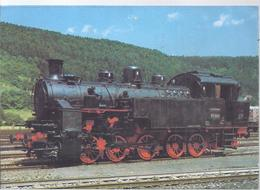 AK-F-212  -  Zahnradlokomotive   - Baureihe 97 - Baujahr 1923  . Maschinenfabrik Esslingen - Trains