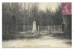 80 - Forêt De CRECY - Monument Du Brigadier Berteaux - CPA - Crecy En Ponthieu