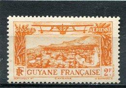 GUYANE  FRANCAISE  N°  14 **  PA  (Y&T)  (Neuf) - Neufs
