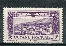 GUYANE  FRANCAISE  N°  16 **  PA  (Y&T)  (Neuf) - Neufs