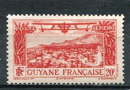 GUYANE  FRANCAISE  N°  18 **  PA  (Y&T)  (Neuf) - Neufs