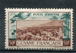 GUYANE  FRANCAISE  N°  21 *  PA  (Y&T)  (Charnière) - Neufs