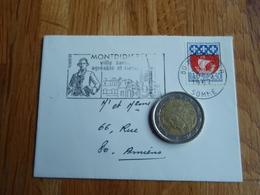 Petite Enveloppe Timbrée Aux Armoiries De PARIS   + Flamme De MONTDIDIER 1967 - Autres