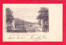 E-Belgique-496A99  PERUWELZ Ancien Pont Du Vermontois, Cpa Précurseur BE - Peruwelz