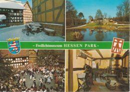 Postcard - Freilichtmuseum Hessen Park Four Views - Card No.5002 Unused Very Good - Postcards