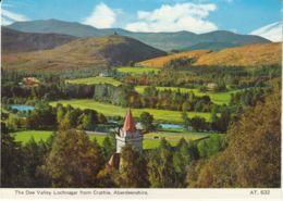 Postcard - The Dee Valley Lochnagar From Crathie, Aberdeenshire - Card No.632 Unused Very Good - Postcards