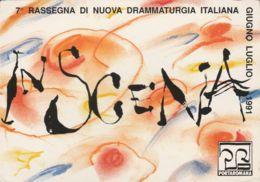 Postcard - Rassegna Di Nuova Drammaturgia Italiana - Card No.182  Unused Very Good - Postcards