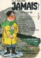 Postcard -  Je N ' Oublierai - Jamais - La Ville De - Card No.6092 Unused Very Good - Postcards