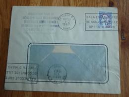 Enveloppe De L'Association Oeuvres ARMEE LILLE 1967 - Autres