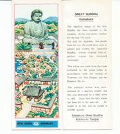 Ticket D'entrée Pour Le Grand Bouddha Amitabha De Kamakura .  Sud-Ouest De Tokyo. Japon. - Tickets D'entrée