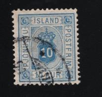 1876 Mi IS D5Aa Sn IS O6 Yt IS S6A Sg IS O22a  AFA IS T5 Dienstmarke  Postage - 1873-1918 Dänische Abhängigkeit