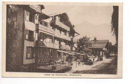 CHAMPÉRY Hôtel De Champéry Postauto - VS Valais