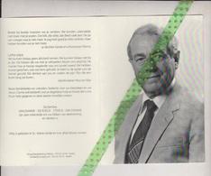 Willy Van Damme-Sterck, Sint-Maria-Lierde 1925, 2008. Oud-Burgemeester - Décès