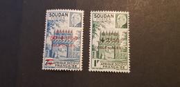 Soudan Yvert 133-134** - Soudan (1894-1902)