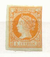 Año 1860 Edifil 52 Isabel II  Nuevo - Unused Stamps