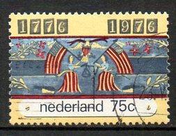 PAYS-BAS. N°1047 De 1976 Oblitéré. L'indépendance Des USA. - Us Independence
