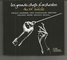 Coffret 2 CD Les Grands Chefs D'orchestre Du XXe Siècle KARAJAN / KLEMPERER / SOLTI / FURTWANGLER / BERNSTEIN Etc - Klassik