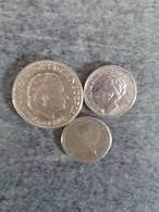 Pays-Bas  - Lot De 3 Pièces - 1 Gulden Argent 1957 - 25 Cent 1941 Argent Et 25 Cent 1910 Argent - - [ 8] Monedas En Oro Y Plata
