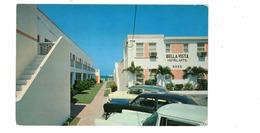 MIAMI BEACH, Florida, USA, Bella Vista Hotel Apartments, 1950's Chrome Postcard - Miami Beach