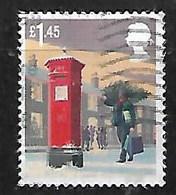 GB 2018 XMAS £1.45 PILLAR BOX HV - 1952-.... (Elizabeth II)