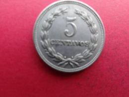 El Salvador  5 Centavos  1972  Km134 - El Salvador