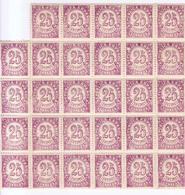 Año 1938 Edifil 749 Cifras Bloque De 29 Sellos - 1931-50 Unused Stamps