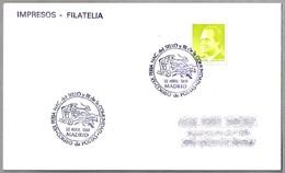 Feria De Sello - DILIGENCIA DE CORREOS - MAIL STAGECOAH. Madrid 1988 - Correo Postal