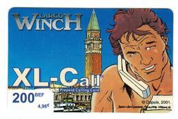 Telecarte Prepaid Calling Card Largo WincH By XL-Call - Livres & CDs