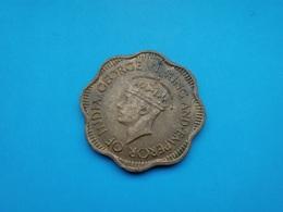 Ceylan - Sri Lanka   10 Cents  1944 - Sri Lanka