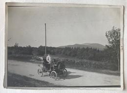 Photographie Originale Voiture Ancienne 1900 à Identifier Renault ? Fiat ? - Automobiles