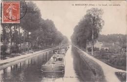 RIBECOURT - Le Canal, Vue Nouvelle - Péniches - Ribecourt Dreslincourt