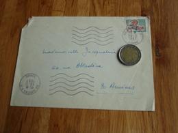 Enveloppe Timbrée Au Coq De Décaris 1967 - Autres