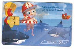 Carte Téléphonique Alexis Nesme Série 200000 Cabines Partout En France! N°6 - Phonecards